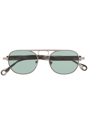Etudes Candidate tinted sunglasses - SILVER