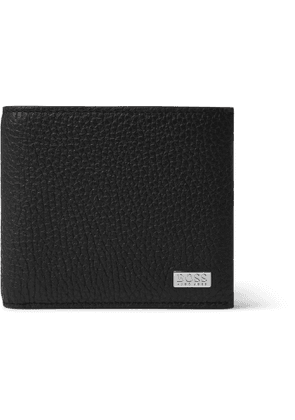HUGO BOSS - Full-Grain Leather Billfold Wallet - Men - Black