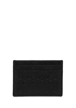Allover Monogram Leather Card Holder