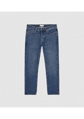 Reiss Brockwell - Low Rise Slim Fit Jeans in Blue, Mens, Size 28S