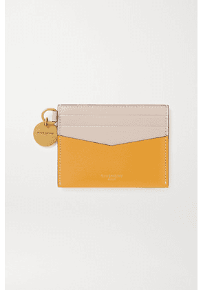 Givenchy - Two-tone Leather Cardholder - Yellow