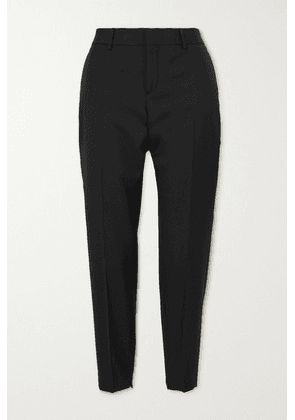 SAINT LAURENT - Wool Slim-leg Pants - Black