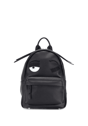 Chiara Ferragni eye design backpack - Black