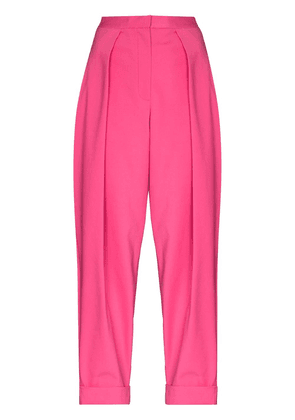 ANOUKI Peggy high-rise pleated trousers - Pink