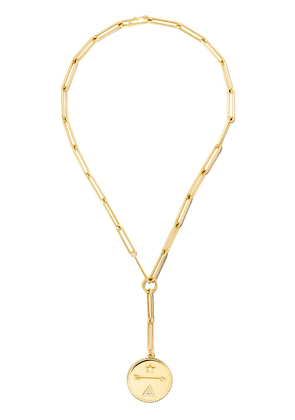 Foundrae 18kt yellow gold Clip Extended Large Dream diamond necklace