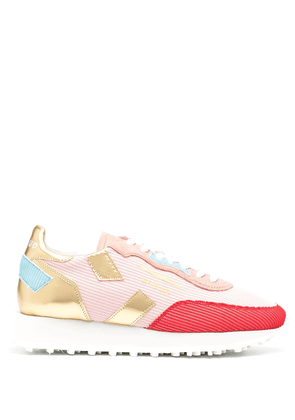 Ghoud metallic panel sneakers - PINK