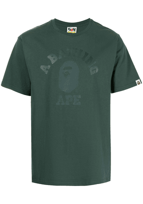 A BATHING APE® graphic-print cotton T-Shirt - Green