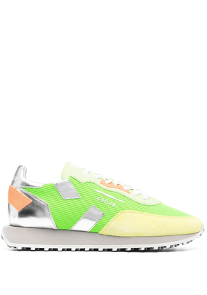Ghoud ribbed panel sneakers - Green