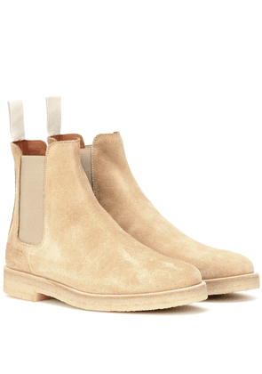 Chelsea suede ankle boots