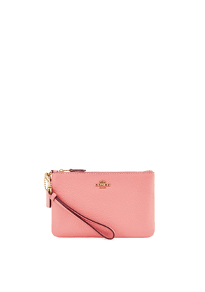 Coach Pink Leather Pouch
