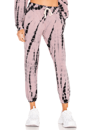 Electric & Rose Vendimia Jogger in Pink. Size M, S, XS.