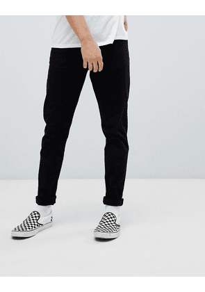 Weekday Cone slim tapered jeans stay black