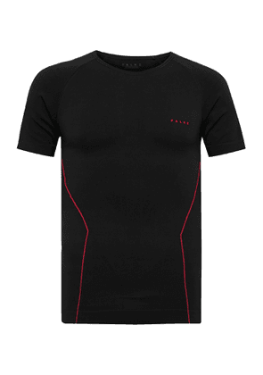 FALKE Ergonomic Sport System - Warm Stretch-Knit Base Layer - Men - Black