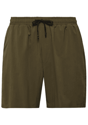 FALKE Ergonomic Sport System - Basic Challenger Slim-Fit Stretch-Shell Shorts - Men - Green