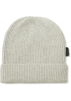 TOM FORD - Ribbed Cashmere Beanie - Men - Gray