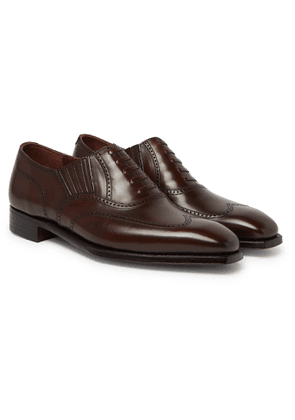 George Cleverley - Winston Leather Oxford Brogues - Men - Brown