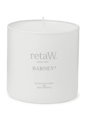 retaW - Barney Scented Candle, 145g - Men - White
