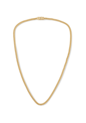 TOM WOOD - Gold Curb Chain Necklace - Men - Gold