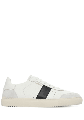 Dunk V2 Contrast Leather Sneakers