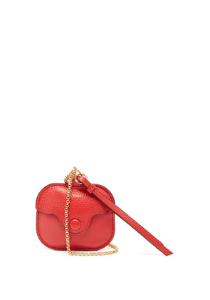 Chloé - Chain-strap Leather Airpods Pro Case - Womens - Red