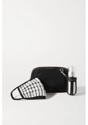 Anya Hindmarch - Shell Pouch, Face Mask And Hand-sanitizer Dispenser Kit - Black