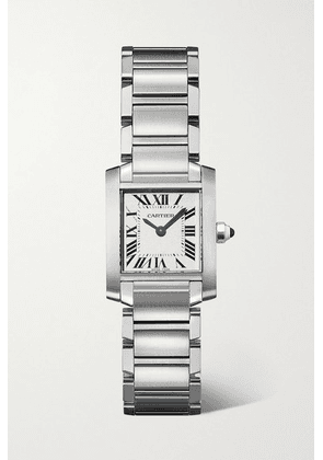 Cartier - Tank Française 20mm Small Stainless Steel Watch - Silver