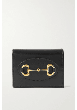 Gucci - 1955 Horsebit Leather Wallet - Black