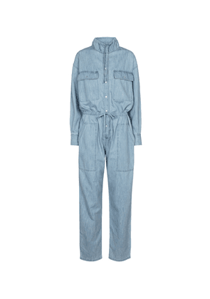 Marvin cotton chambray jumpsuit