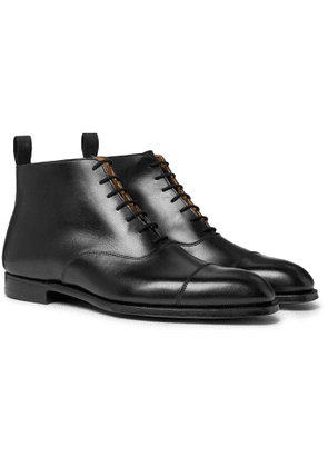 George Cleverley - William Cap-Toe Leather Boots - Men - Black