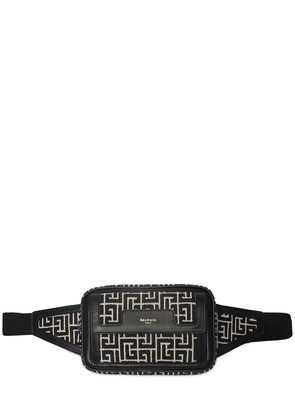 Monogram Jacquard Canvas Belt Bag
