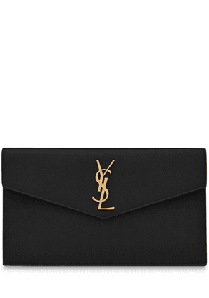 Uptown Md Monogram Leather Pouch