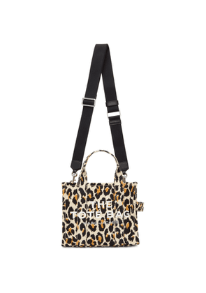 Marc Jacobs Off-White The Leopard Mini Traveler Tote