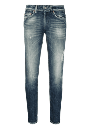 Dondup mid-rise cropped jeans - Blue