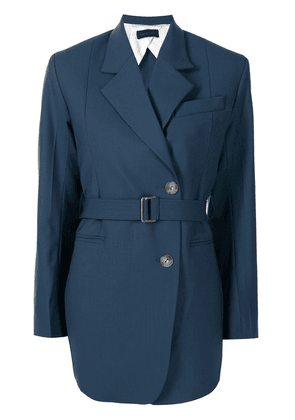 Eudon Choi belted double-breasted blazer - Blue