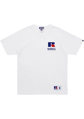 A BATHING APE® x Russell College T-shirt - White