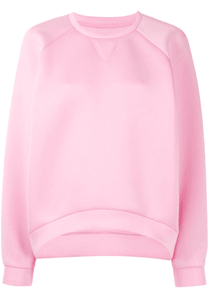 Cynthia Rowley crew-neck long sleeve sweatshirt - PINK