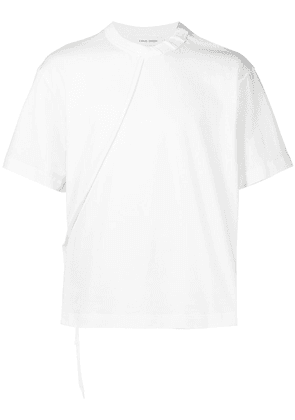 Craig Green contrasting lace cotton T-shirt - White