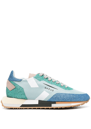 Ghoud Star colour-block sneakers - Blue