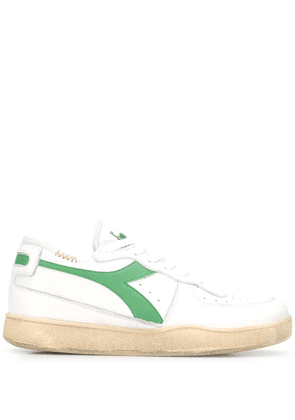 Diadora flat low top sneakers - White