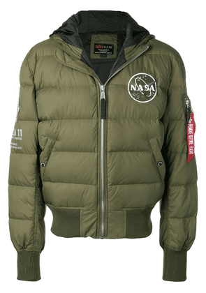 Alpha Industries reversible bomber jacket - Green