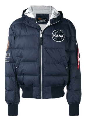 Alpha Industries padded bomber jacket - Blue