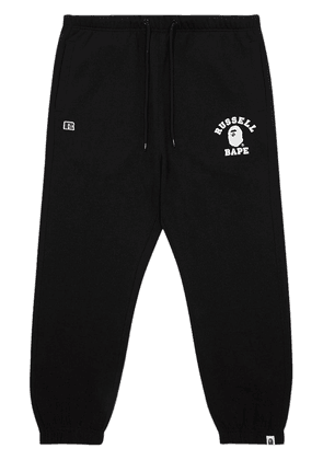 A BATHING APE® x Russell College track pants - Black