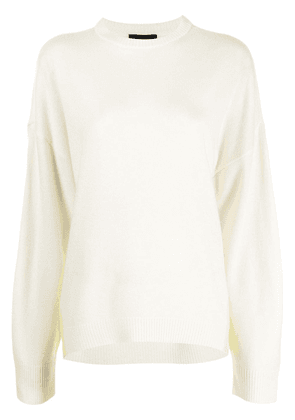 Cynthia Rowley Willow merino jumper - White