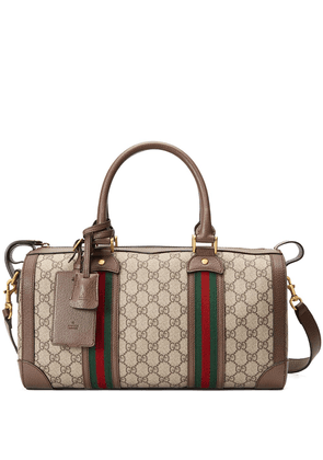 Gucci small Ophidia GG Web duffle bag - Brown