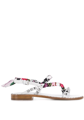Ash Pattaya sandals - White