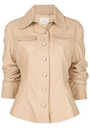 Cinq A Sept Canyon single-breasted jacket - Neutrals