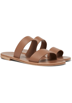 Álvaro - Alex Leather Sandals - Men - Brown