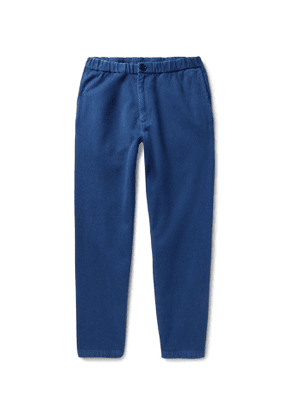 Blue Blue Japan - Cotton Tapered Trousers - Men - Blue