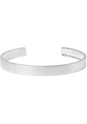 Le Gramme - Le 21 Brushed Sterling Silver Cuff - Men - Silver