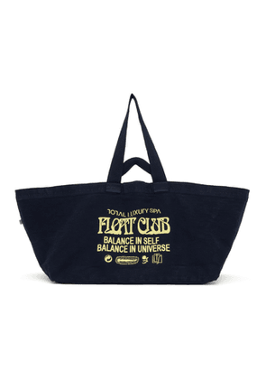 Total Luxury Spa Navy Oversized Spa Float Club Tote